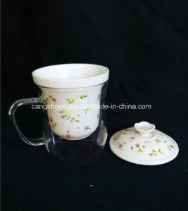 Handmade Crystal Glass Tea Cup pictures & photos