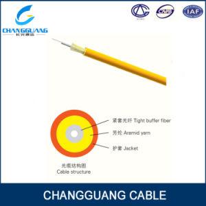 Single Core Om3 Fiber Fiber Optic Cable PVC Jacket GJFJV