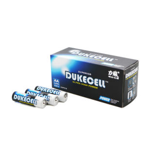 Alkaline Battery Lr6 1.5V AA Dry Battery pictures & photos