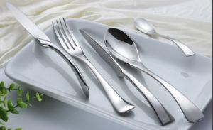 Stainless Steel Forged Flatware Set with Customized Logo pictures & photos