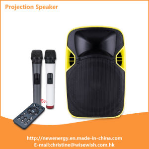 "Professional Multi-Functional 12"" Portable Trolley PA Audio Projection Speaker pictures & photos"