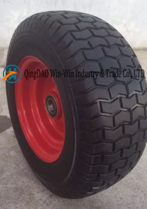Flat-Free PU Wheel for Small Mobiity Equipments (6.50-8) pictures & photos