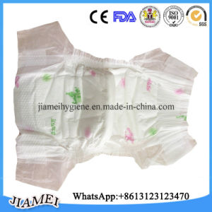 China Cotton Disposable Baby Nappy with Cloth Like Back Sheet pictures & photos