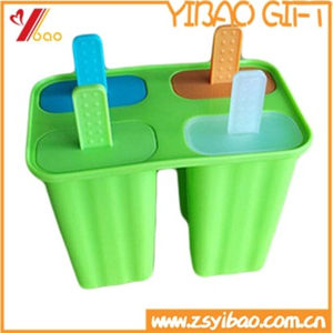 Hot Sale Healthy Made Silicone Ice Cream Popsicle Mold (YB-AB-019) pictures & photos
