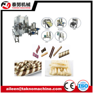 Double Head Egg Roll Biscuit Machine pictures & photos