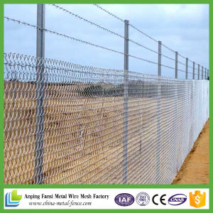 Hot Dipped Galvanized Used Chain Link Fence for Sale pictures & photos