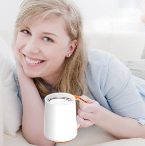 New OLED Temperature APP Health Gift Ceramic Handle Coffee Smart Cup 350ml pictures & photos
