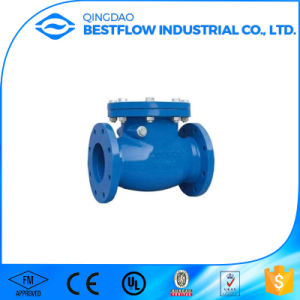 BS5153 Ductile Cast Iron Flanged Hydraulic Actuator Swing Check Valve Pn16 pictures & photos