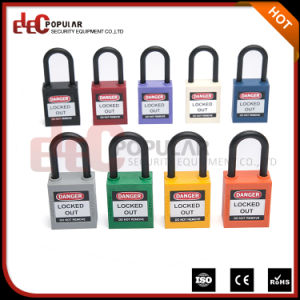 Slim 38mm Waterproof Safety Lockout Nylon Padlock pictures & photos
