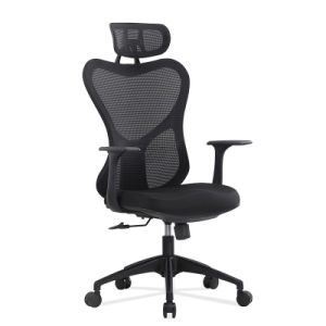 Wholesale Modern Design New Clear Plastic Chair Mesh Modern Ergonomic Office Chair pictures & photos