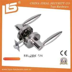 Heavy Duty Zinc Alloy Door Handle Lock (8812BK SN) pictures & photos