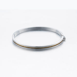 2017 Summer Design One Line Silver Chain Bangle pictures & photos