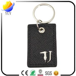 Promotional 2016 Cheap Metal and Leather Key Chain pictures & photos