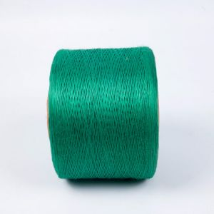 Sturdy Green Polyester Firm Yarn for Cable pictures & photos