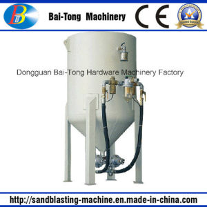 Outdoor Movable Type Pressure Sandblasting Pot Machine pictures & photos