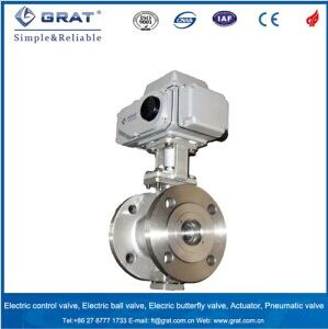 Proportional Electric Motorized Ball Valve pictures & photos