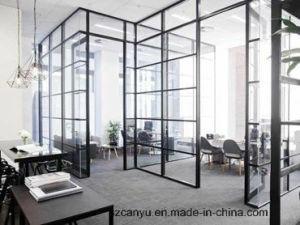 Black Colour Frame Movable Office Partition pictures & photos
