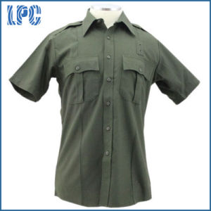 Custom High Quality Short Sleeve Police Uniform pictures & photos