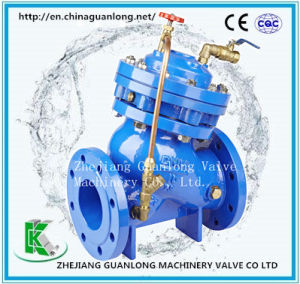 (F745X) Double Chamber Hydraulic Remote Float Ball Water Level Control Valve pictures & photos
