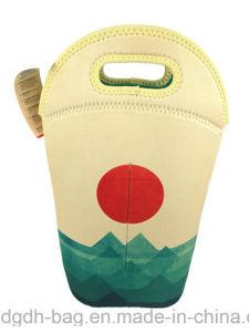 New Arrival Tubular Wine Cooler Bag for 2bottles pictures & photos