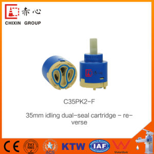 Idling Double Seal Ceramic Faucet Cartridge (C35PK1) Supplier pictures & photos