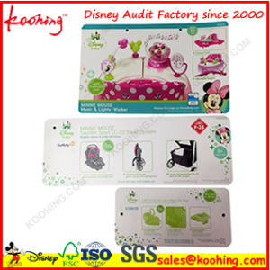 Top Factory Printing PP Paper Plastic Label Hang Tag pictures & photos