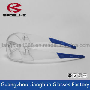 New Design Clear Lab Safety Glasses with Good Price PC Safety Glasses Nice Ce En166f Safety Glasses Goggles pictures & photos