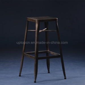 Industrial Durable Black Metal Cafe Bar Stool (SP-MC074) pictures & photos