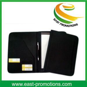 Zipper A4 A5 PU Leather Planner Organizer Agenda Notebook pictures & photos