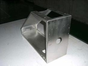 6mm Thick Galvanized Steel Sheet Metal Fabrication Laser Cutting Parts pictures & photos