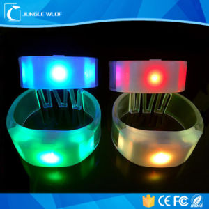 Colorful Sound Controlled Radio Controlled LED Bracelet for Event pictures & photos