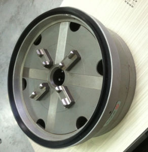 Erowa Pneumatic Power Steel Lathe Welding Chuck with Plate Cheap pictures & photos