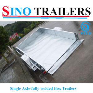 Utility Fully Welded Single Axle Box Trailers