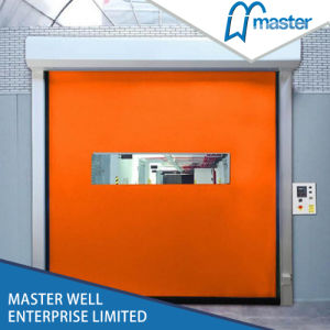 Reset Zipper Door Self Repairing High Speed PVC Industrial Door pictures & photos