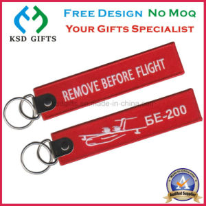 Hot Sell Promotional Fashion Remove Before Flight Keychain pictures & photos
