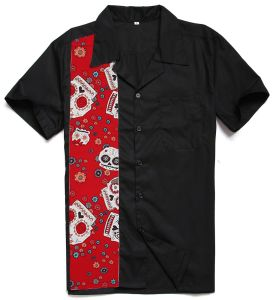 2017 Hot Sale Latest Shirt Designs for Men Maxi Size XXL Short Sleeves pictures & photos
