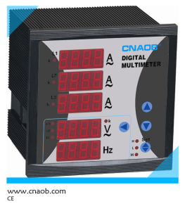 Cnaob Three Phase Voltage Current Frequency Combined Meter pictures & photos