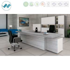 Melamine Office Desk Fsc Certified Office Furniture (Accurate-ED24)