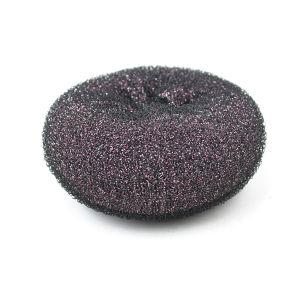 2017 Best Selling Glitter Hair Donut Shining Hair Bun for Women pictures & photos