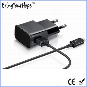Europe Plug USB Wall Charger with USB Cable (XH-UC-008) pictures & photos
