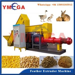 Good Performance Commercial Use Automatic Poultry Feather Puffing Extruding Machine pictures & photos