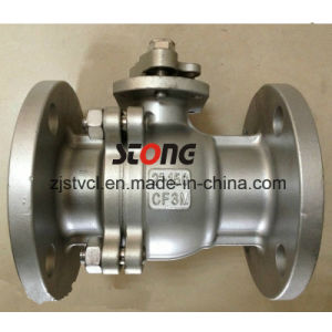 2 PCS Type Stainless Steel Floating Flange Ball Valve pictures & photos