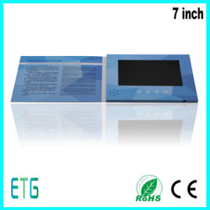 2017 Year LCD Greeting Video Player for Hot Sale pictures & photos