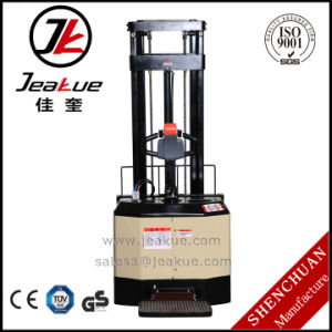 Economic Counterbalance Full Electric Stacker for Cheap Sale pictures & photos