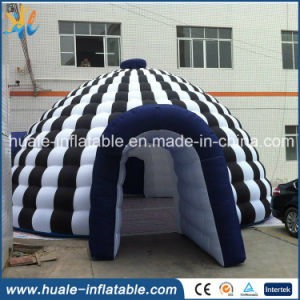 2016 New Design Inflatable Dome Tent with Entrance Tunnel