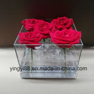 Top Quality Acrylic Rose Box Shenzhen Manufacturer pictures & photos