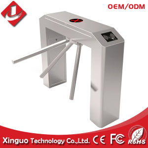 Semi Automatic Tripod Turnstile with RFID Card Reader pictures & photos