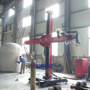 Automatic Circular Seam Welding Machine for Tank Cylinders Pipe Tubes pictures & photos