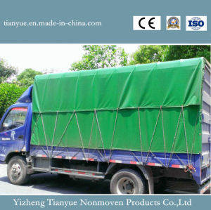China PVC Coated Tarpaulin Factory pictures & photos