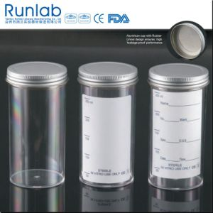 250ml Sample Containers with Metal Cap and Plain Label pictures & photos